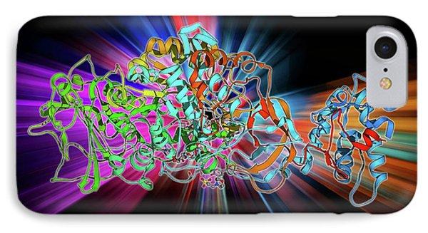 Bacterial Biofilm Enzyme IPhone Case