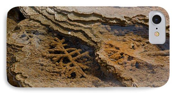 Bacterial Mat 8 Phone Case by Dan Hartford