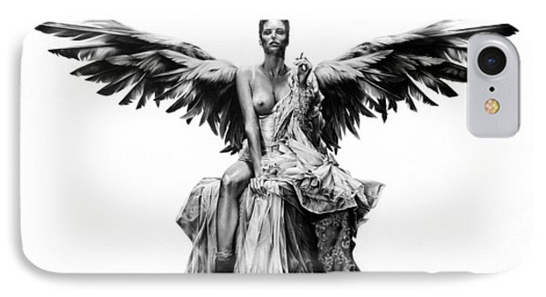 Bad Angel IPhone Case by Mario Pichler