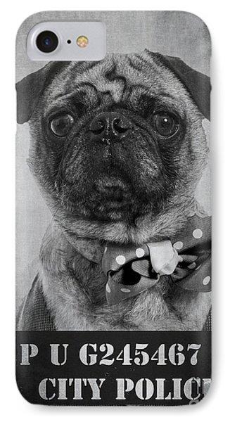 Bad Dog IPhone Case by Edward Fielding