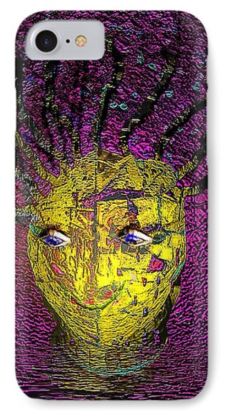 IPhone Case featuring the photograph Bad Hair Day by Irma BACKELANT GALLERIES