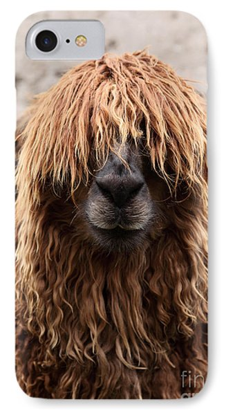 Bad Hair Day IPhone Case by James Brunker