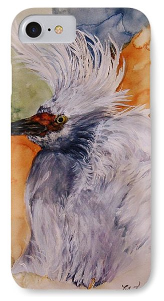 IPhone Case featuring the painting Bad Hair Day by Lil Taylor