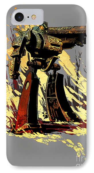 Bad Robot IPhone Case by Brian Kesinger