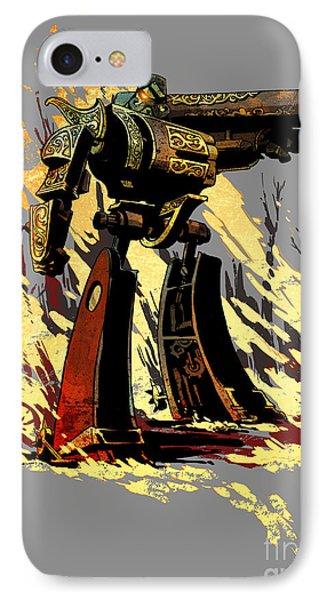 Bad Robot Phone Case by Brian Kesinger