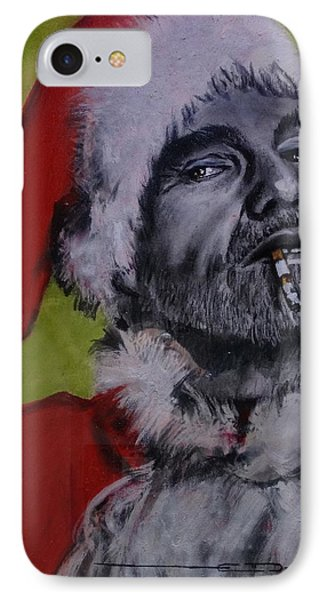 Bad Santa IPhone Case by Eric Dee