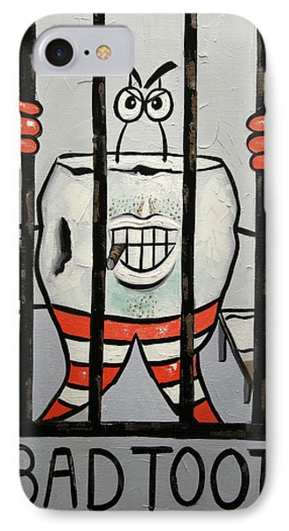Bad Tooth Phone Case by Anthony Falbo