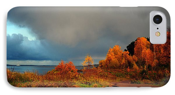 IPhone Case featuring the photograph Bad Weather Coming by Randi Grace Nilsberg