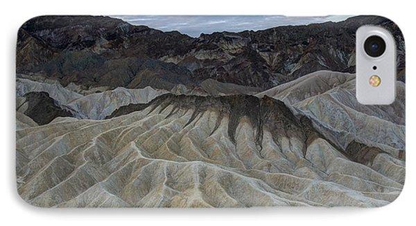 Badlands At Sunrise. Death Valley Phone Case by Juli Scalzi