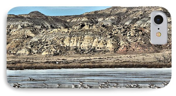 Badlands Spring Thaw IPhone Case by Aliceann Carlton