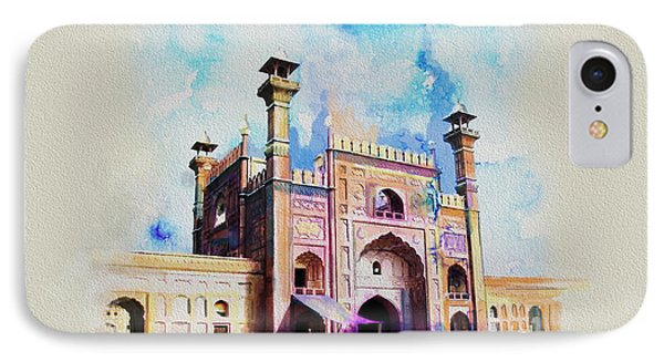 Badshahi Mosque Gate Phone Case by Catf