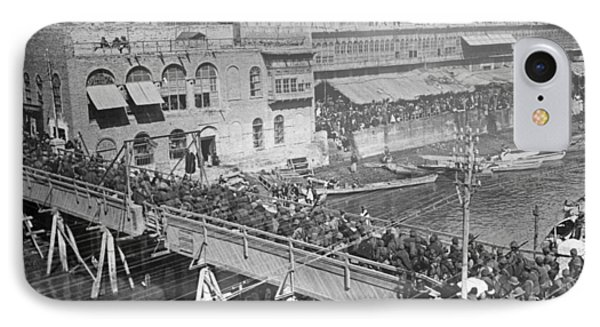 Baghdad Tigris River Bridge IPhone Case by Granger