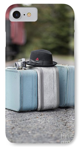 Bags All Packed Ready To Go IPhone Case by Edward Fielding