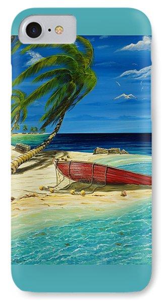 Bahama Beach IPhone Case by Steve Ozment