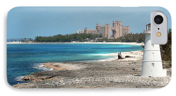 Bahamas Lighthouse IPhone Case by Julie Palencia