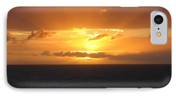 IPhone Case featuring the photograph Bahamas Ocean Sunset by John Telfer