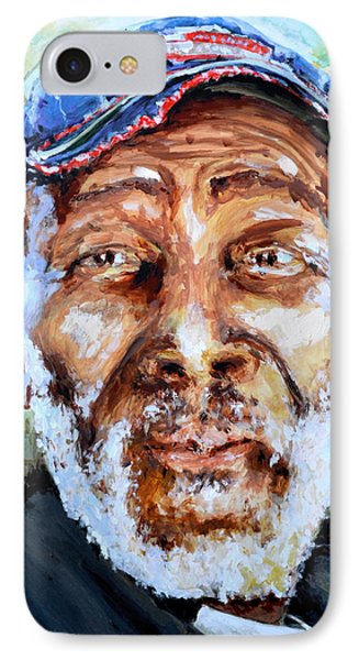 Bahamian Old Man IPhone Case