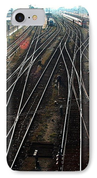 IPhone 7 Case featuring the photograph Bahnhof Cottbus by Marc Philippe Joly