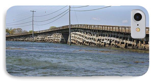 Bailey Island Bridge - Harpswell Maine IPhone Case by Erin Paul Donovan