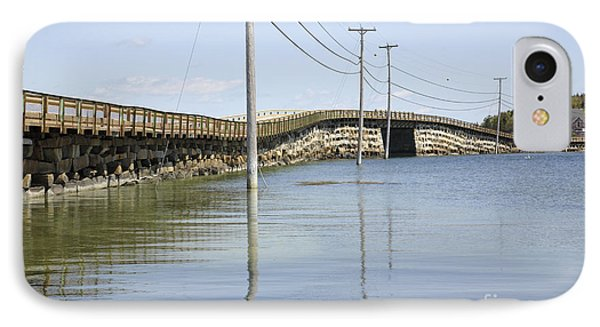 Bailey Island Bridge - Harpswell Maine Usa Phone Case by Erin Paul Donovan