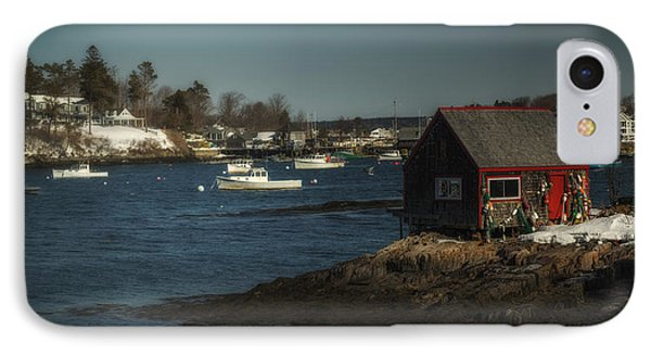 Bailey Island IPhone Case by Chad Tracy