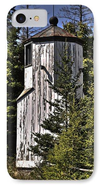 IPhone Case featuring the photograph Baileys Harbor Range Lighthouse by Deborah Klubertanz