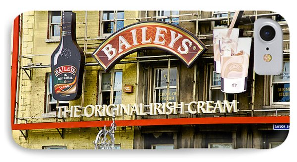 Baileys Irish Cream IPhone Case by Charlie Brock