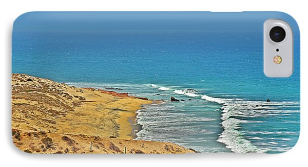 IPhone Case featuring the photograph Baja California - Desert Meets Ocean by Christine Till