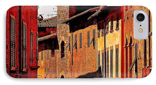 Baked In The Tuscan Sun Phone Case by Ira Shander
