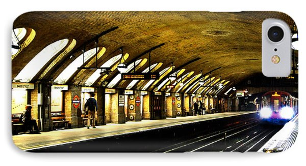 Baker Street London Underground IPhone 7 Case by Mark Rogan