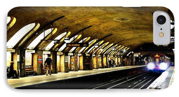 Baker Street London Underground IPhone Case by Mark Rogan