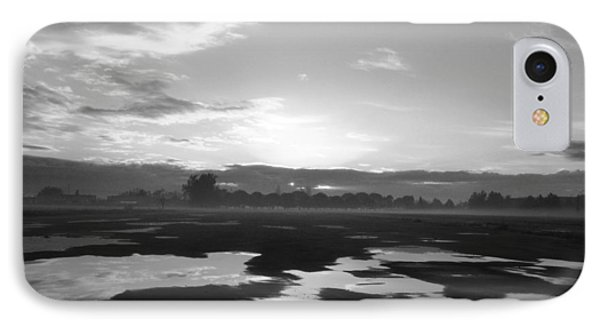 IPhone Case featuring the photograph Bakersfield In Black And White by Meghan at FireBonnet Art