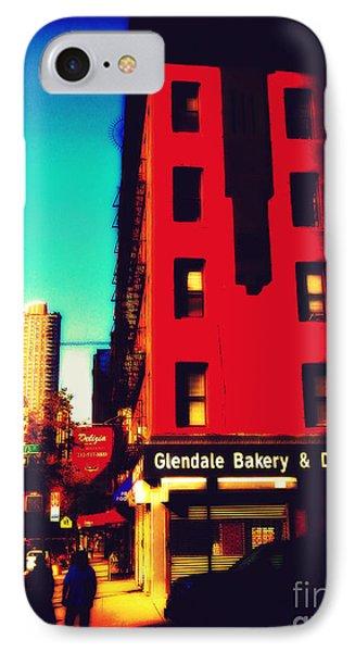 The Bakery - New York City Street Scene IPhone Case by Miriam Danar
