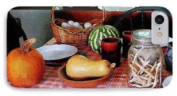 Baking A Squash And Pumpkin Pie Phone Case by Susan Savad