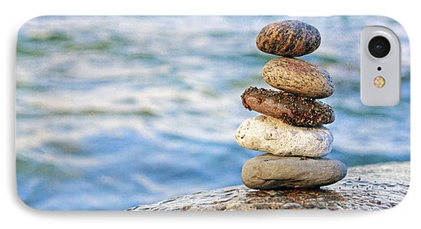 Balanced Pebbles IPhone Case by Charline Xia