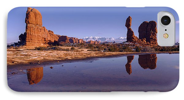 Balanced Reflection IPhone Case by Chad Dutson