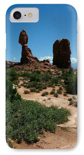 IPhone Case featuring the photograph Balanced Rock by Jon Emery