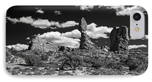 Balanced Rock IPhone Case by Larry Carr