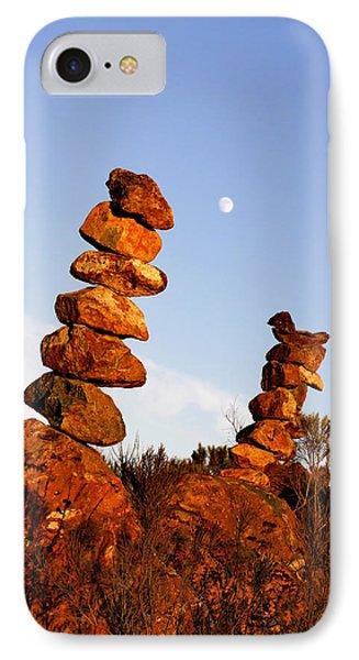 Balanced Rock Piles IPhone Case