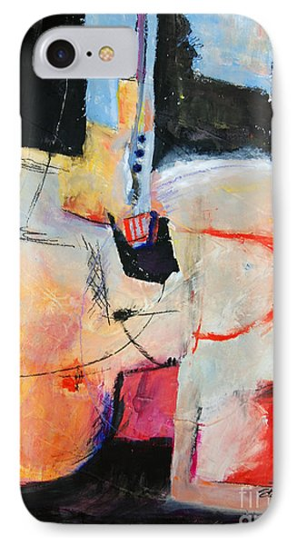 IPhone Case featuring the painting Balancing Act by Ron Stephens