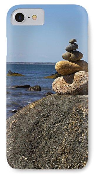 Balancing Rock 2 Phone Case by Rosie McCobb