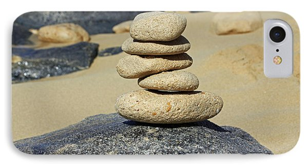 Balancing Rocks IPhone Case by Denise Pohl
