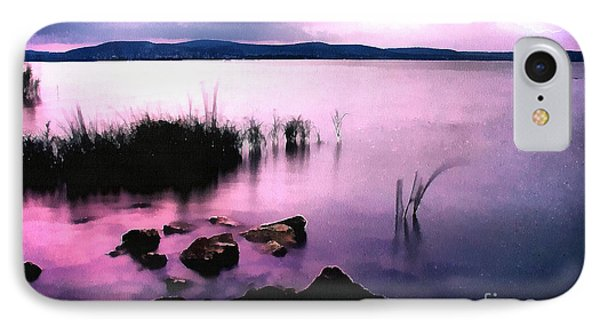 Balaton By Night IPhone Case by Odon Czintos