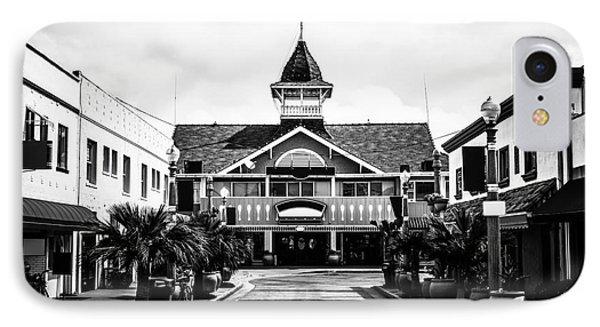 Balboa California Main Street Black And White Picture IPhone Case