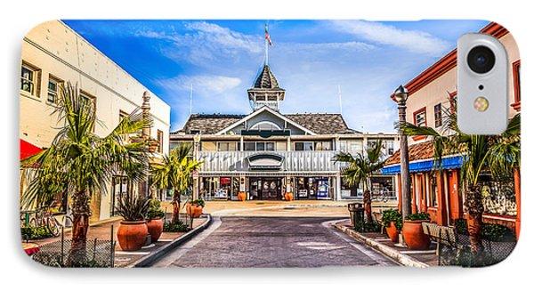 Balboa Main Street In Newport Beach Picture Phone Case by Paul Velgos