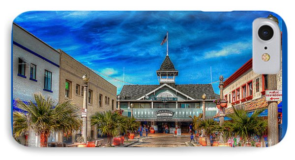 IPhone Case featuring the photograph Balboa Pavilion by Jim Carrell