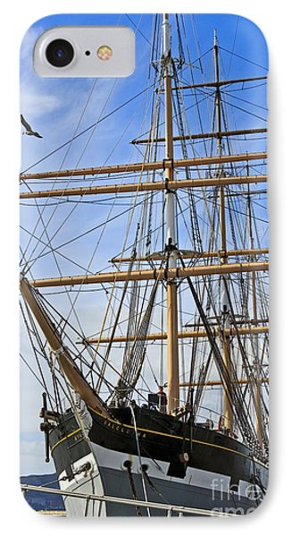 IPhone Case featuring the photograph Balclutha by Kate Brown