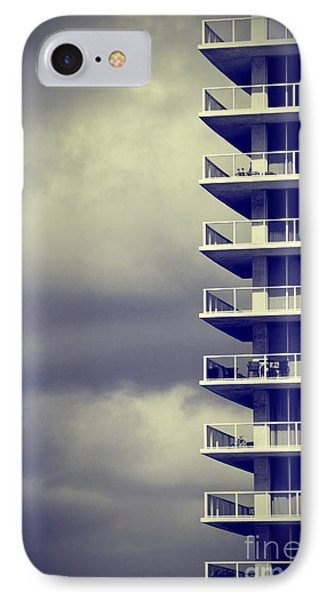 Balcony Study Phone Case by Amy Cicconi