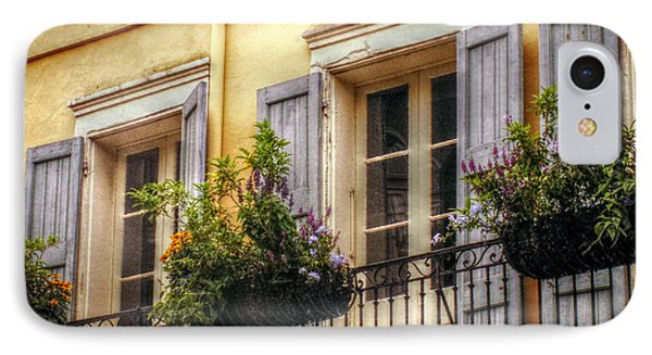 French Quarter Balcony IPhone Case by Valerie Reeves
