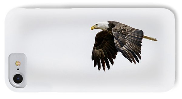 IPhone Case featuring the photograph Bald Eagle 3 by David Lester